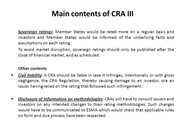 Credit Rating and Credit Rating Agencies - ppt video ...