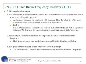 29 : AM Receiver AM demodulation is the reverse process