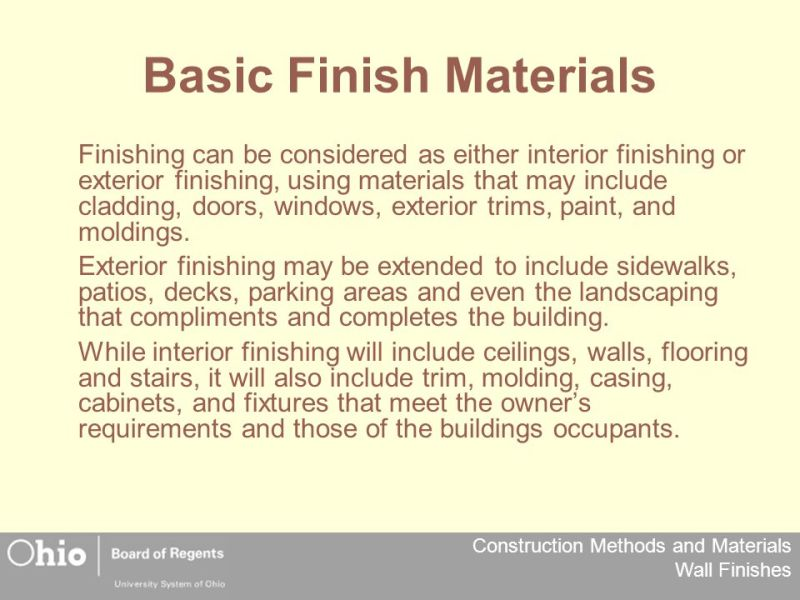 Decorative Wall Finishes Ppt