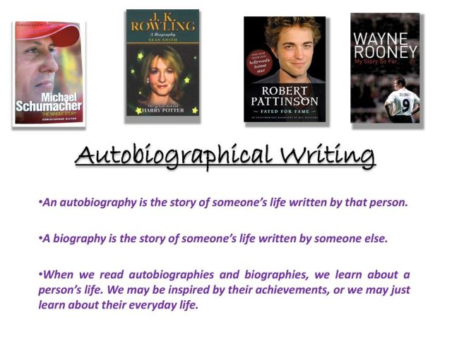 Autobiographical Writing - ppt download