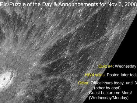 Mercury. Similarities to the Moon The Moon and Mercury ...