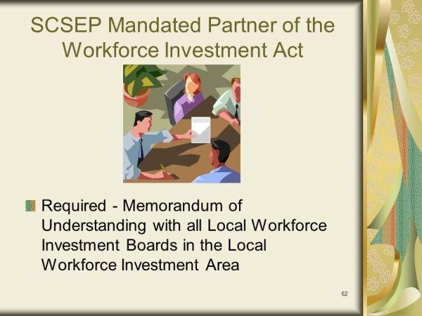 Senior Community Service Employment Program (SCSEP) - ppt ...