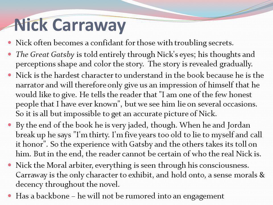 nick carraway characteristics