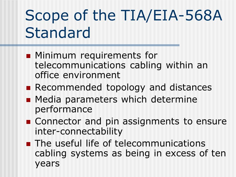 Scope+of+the+TIA%2FEIA 568A+Standard eia 568a wiring diagram dolgular com 568a wiring diagram at soozxer.org