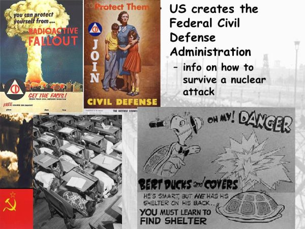 The Cold War: Political and Military Tensions between US ...