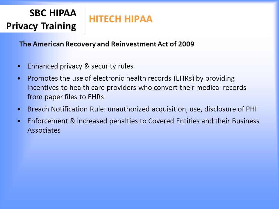 Medical Records Security And Penalties Privacy