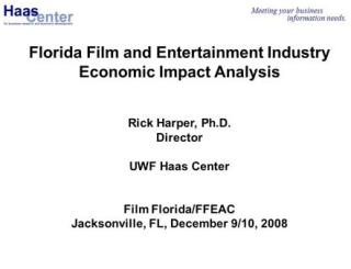 The Entertainment Industry And Its Impact On The Economy