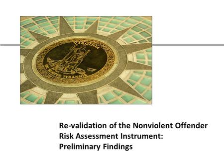 Incapacitation, Recidivism and Predicting Behavior Easha ...