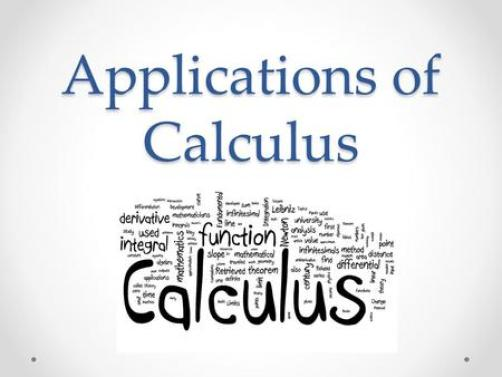 Image result for applications of calculus