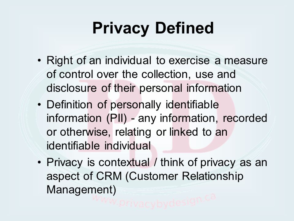 Individual Security Definition