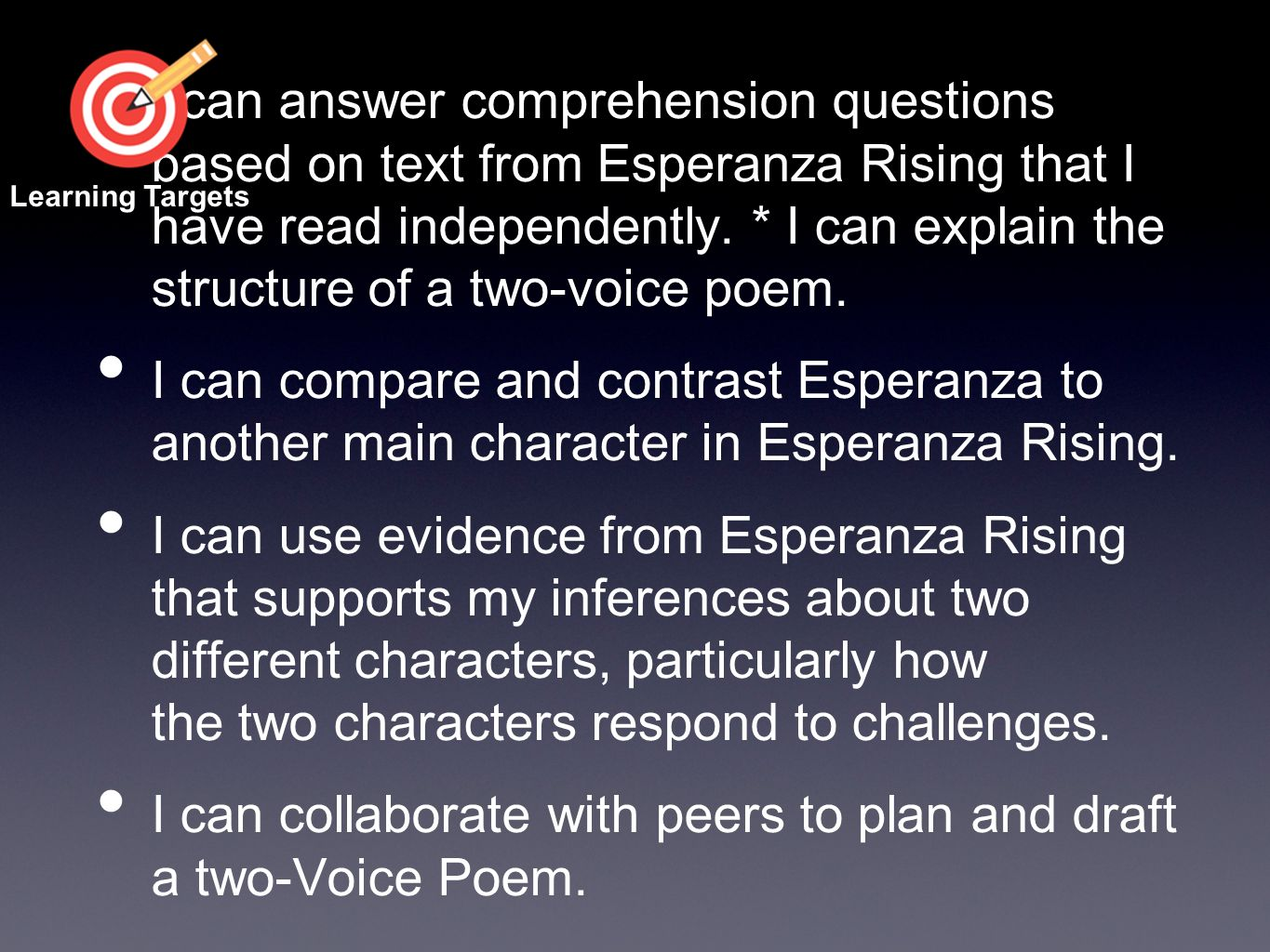 Esperanza Rising 9a Reviewing Character Responses To Challenges