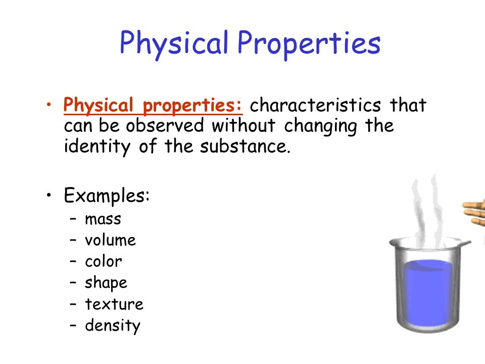 How And Substance Chemical Used They What Are Physical Are Changes And