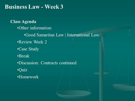 The Legal and Ethical Environment of Business ppt download