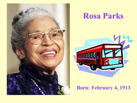 American Heroes~Rosa Louise McCauley Parks (1913-2005)~by ...