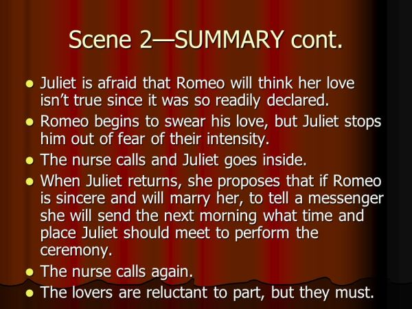 Romeo and Juliet Act II C. Edge. - ppt video online download