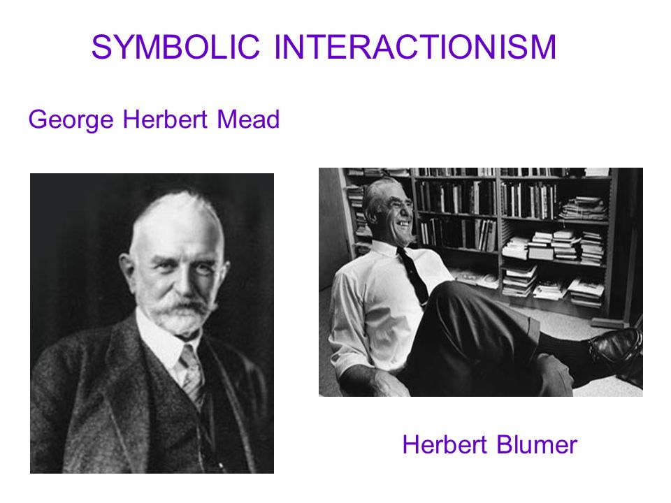 Mead Symbolic Interactionism Gallery Free Symbol And Sign Meaning