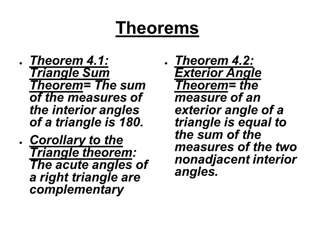Chapter 4a Congruent Triangles By Nate Hungate Gary