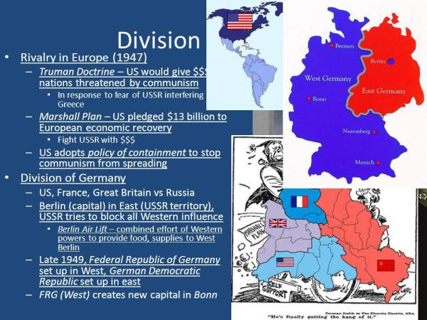 Russia, Europe, and the United States 1945-Present - ppt ...