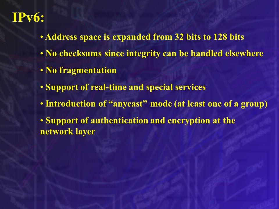 Internetworking Principles