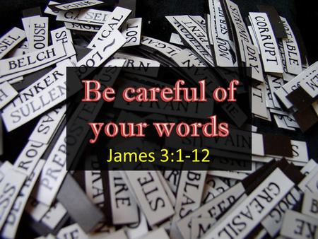 Image result for picture james 3:1-2 bible