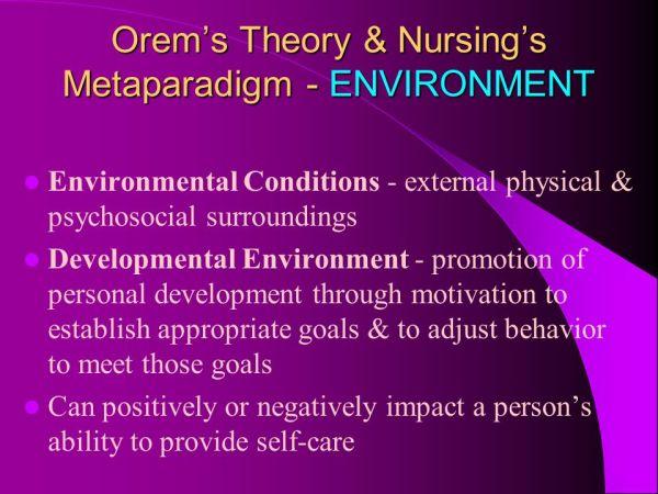 Dorothea Orem Nursing Theory. - ppt video online download