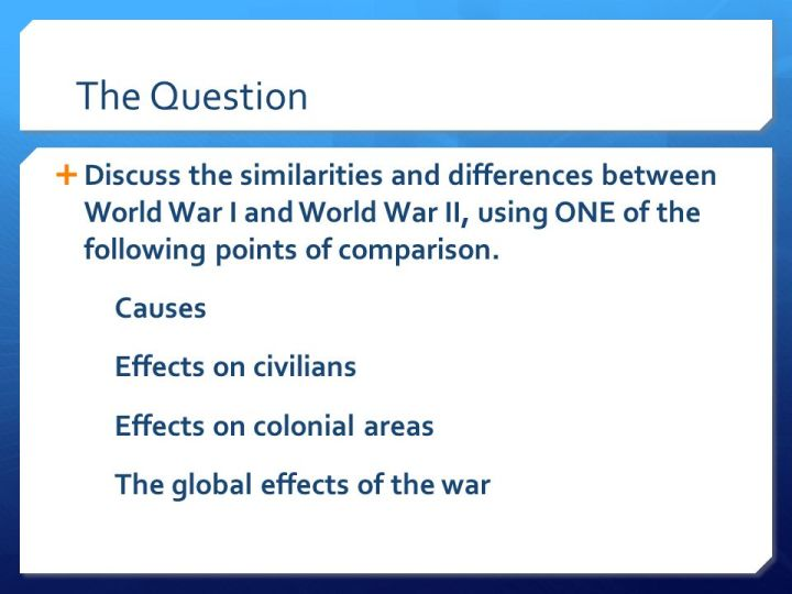 Causes of world war 2 essays