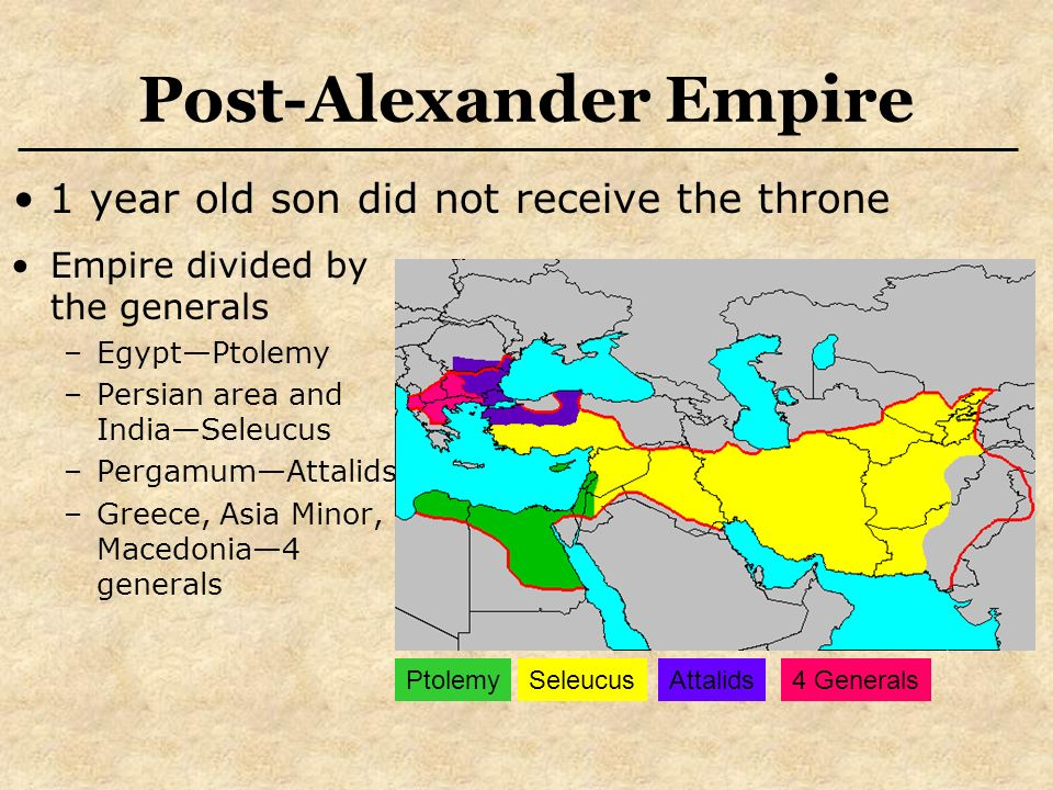 Alexander Greats Empire Divided