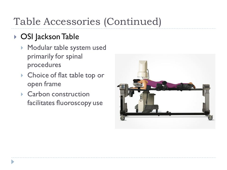jackson frame spine surgery | Framesite.blog