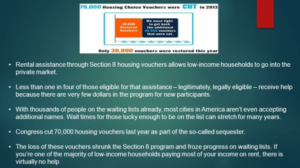 Very Low Income Households Section 8
