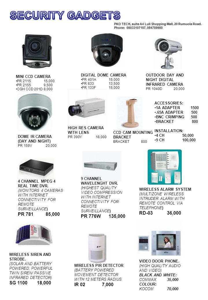 Wireless Alarm System Rd 03