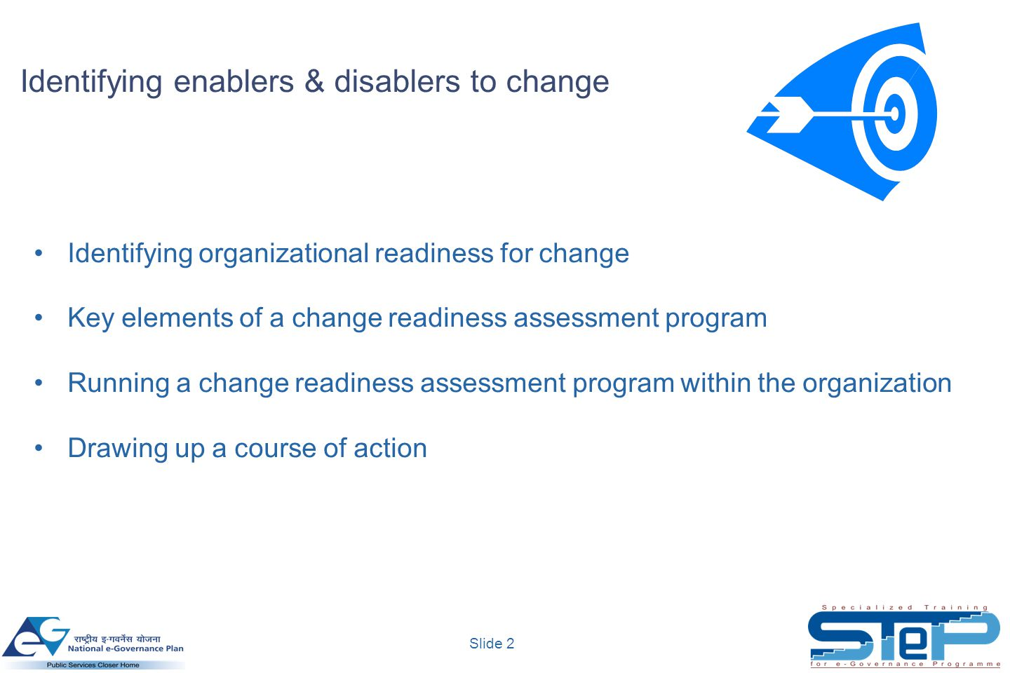 Identifying Enablers Amp Disablers To Change