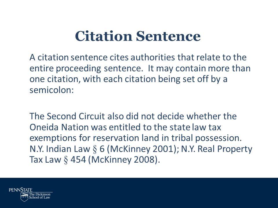 Estate Tax Sentence