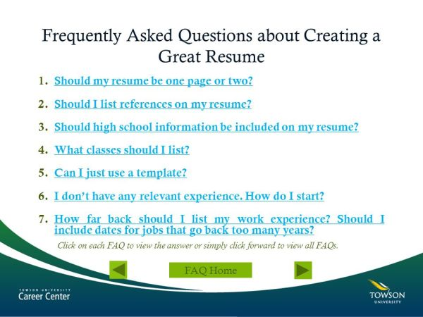 Creating a Great Resume - ppt video online download
