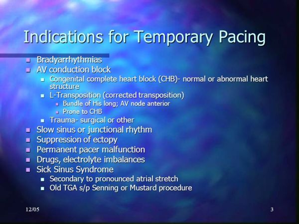 Temporary Pacemakers Karim Rafaat, MD. - ppt video online ...