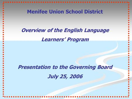 English Language Learners in Schools - ppt download