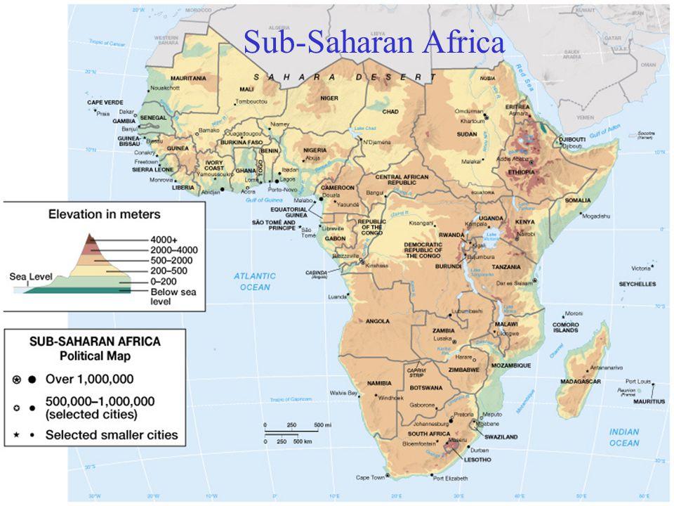 Africa Sub Saharan Cities