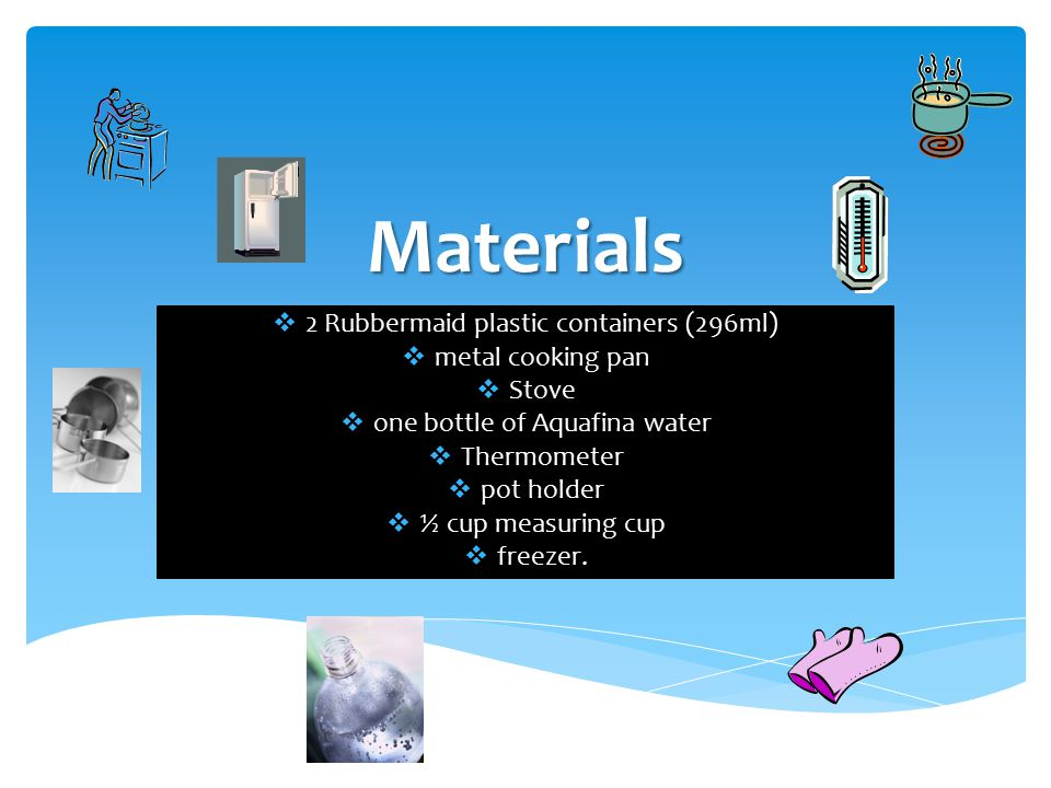 Problem Does Hot Water Or Cold Water Freeze Faster Ppt