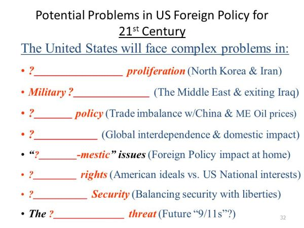 G-18b: Foreign Policy. - ppt video online download