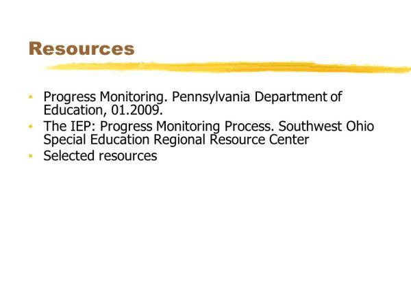 Progress Monitoring. - ppt video online download
