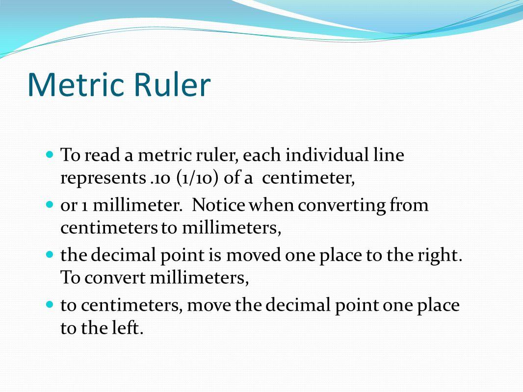 English Worksheet Reading Ruler