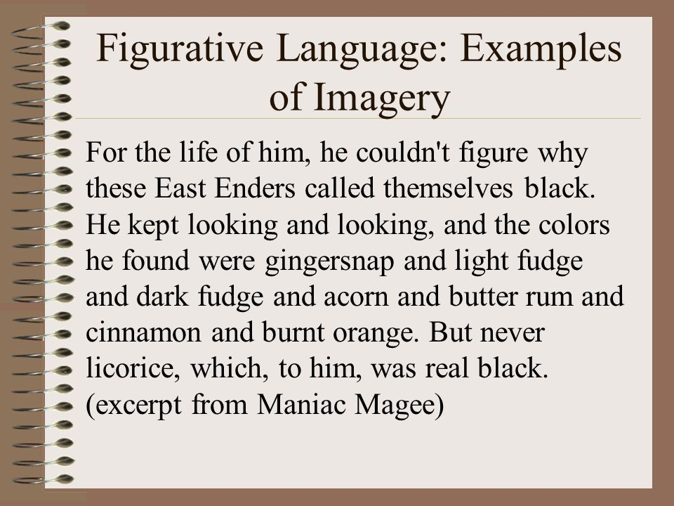 auditory imagery examples in poetry