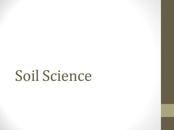 Soil Science. - ppt video online download