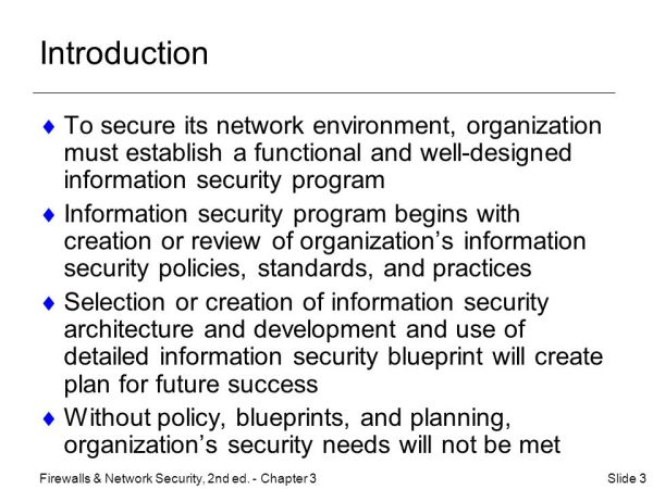 3 Security Policies, Standards, and Planning - ppt download
