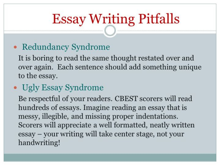 Example Cbest Essays Poemview Co