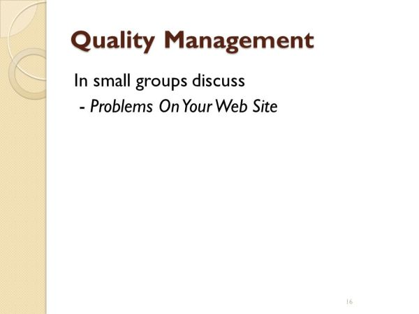Quality Management What is Quality?. - ppt video online ...