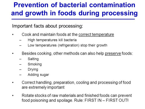 Hygienic and Safe Food Processing Workshop - ppt video ...