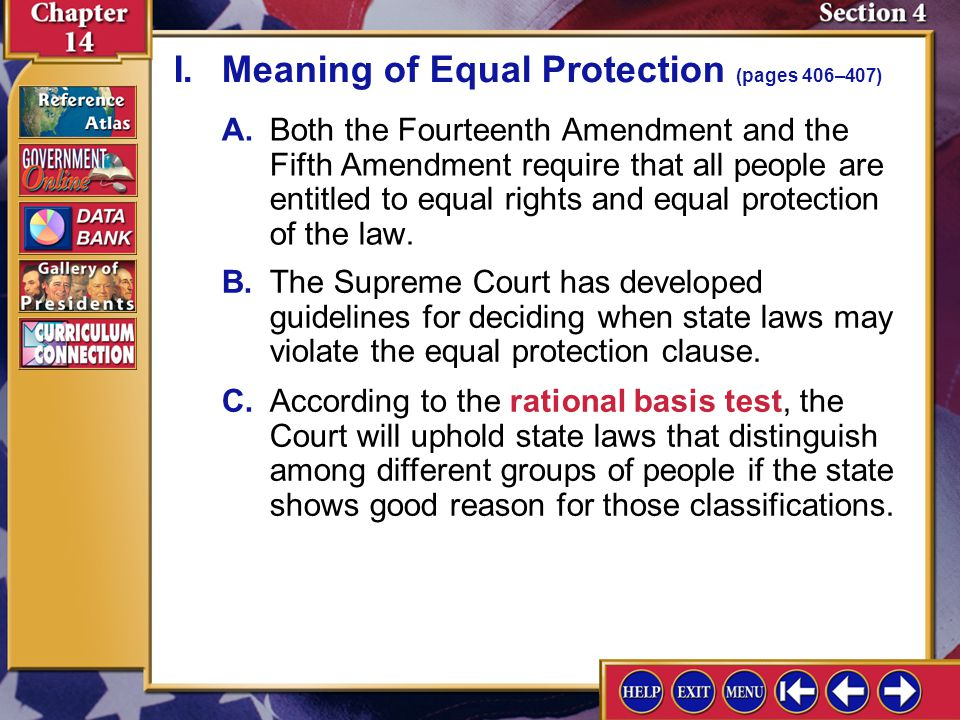 Image result for Fifth Amendment Equal Protection