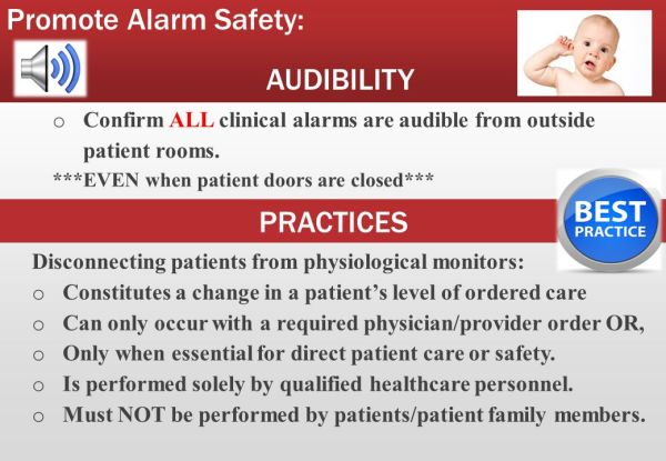 Alarm Management IMPLEMENTING EVIDENCE BASED PRACTICE TO ...