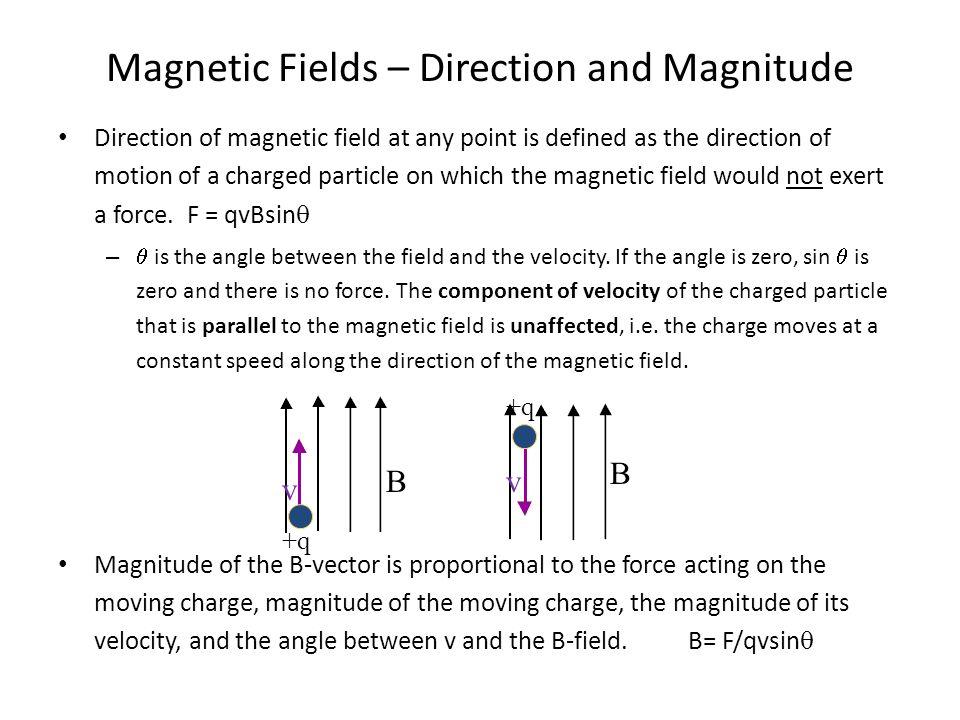 Magnetic Force Magnitude