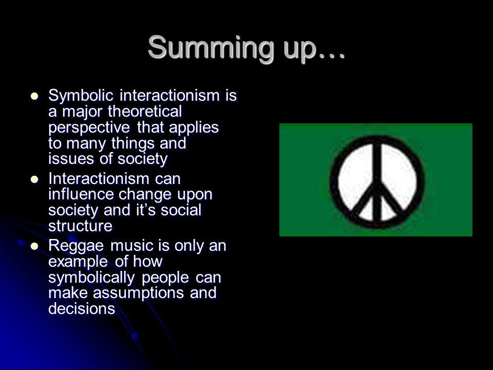 Symbols Of Symbolic Interactionism